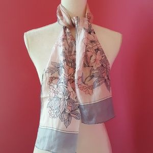 Lovely Floral Sill Scarf